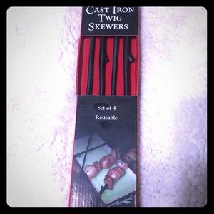 Other - Cast iron twig skewers